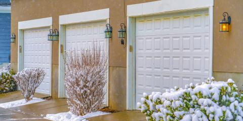 5 Ways to Avoid a Frozen Garage Door, Milford, Connecticut
