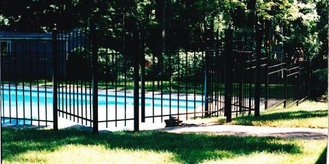 Vinyl Vs Aluminum Which Pool Privacy Fence From Mills