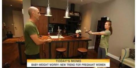 Mind Over Matter Offers Pregnancy Tips on 'Today', Manhattan, New York