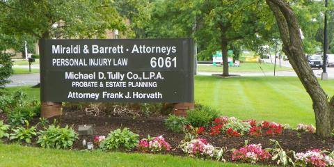 Miraldi & Barrett Co., Personal Injury Attorneys, Attorneys, Services, Lorain, Ohio