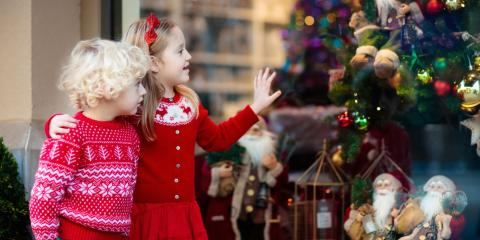 3 Ways to Decorate Storefront Windows for the Holidays, Nicholasville, Kentucky