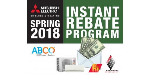 Rebate: Reduce Allergies With a Mitsubishi Electric System, Toughkenamon, Pennsylvania