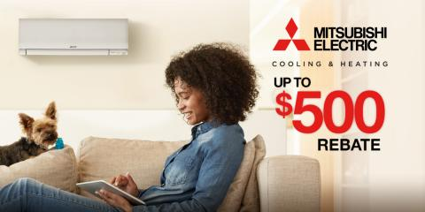 Get Up to $500 Back on Your Mitsubishi Electric® System, Greenburgh, New York