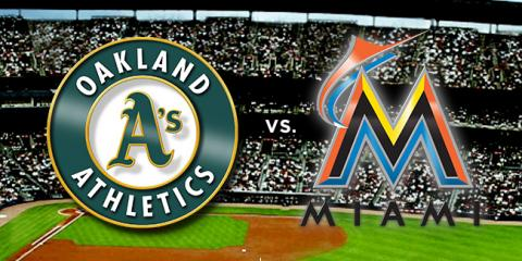 Oakland A's vs Miami - On VolcanoVision's MLB Network, Pine Grove, California