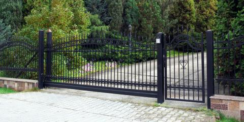 3 Ways a Wrought Iron Gate Will Complete Your Property, Archdale, North Carolina