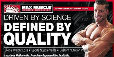 ​Wanna Get Fit? Get Yor Max Muscle Sports Nutrition Coupons, Oceanside-Escondido, California
