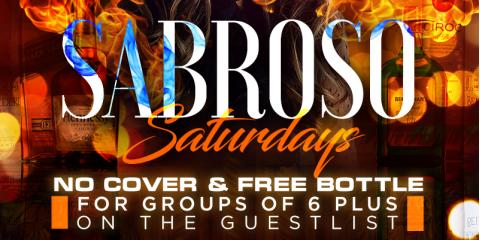 SABROSO SATURDAYS- JUNE 8TH- MAMAJUANA CAFE QUEENS, New York, New York