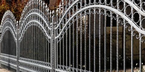 Top 3 Benefits of a Wrought Iron Fence , Columbia, Missouri