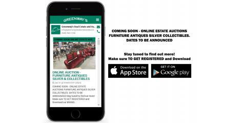Proud to announce our new Mobile App, Online Estate Auctions, and New Website Coming Soon., Covington, Virginia