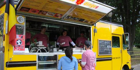 3 Delicious Food Trucks in NYC Serving The Custom Creations of Shanghai Mobile Kitchen Solutions, Brooklyn, New York