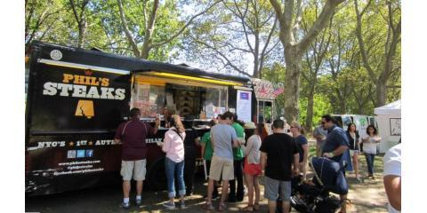 Try Authentic Cheesesteaks at Phil's Steaks, NYC's First Mobile Steak Food Truck, Brooklyn, New York