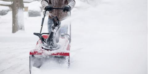 5 Benefits of Using a Snowblower, Monroe, Connecticut