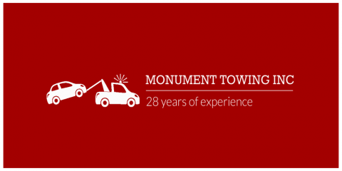 Monument Towing: Prompt Towing Service For Any Vehicle, Anytime, Monument, Colorado