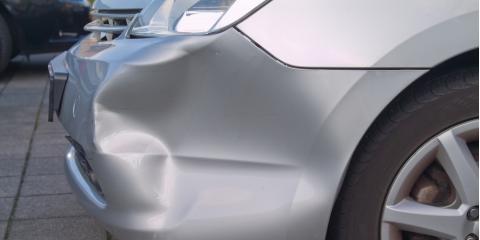 Factors of Choosing Between Dent Repair & Part Replacement, East Hanover, New Jersey