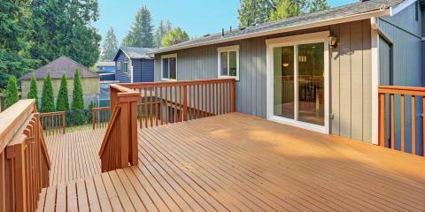 3 Popular Types of Decking Materials, Mountain Home, Arkansas