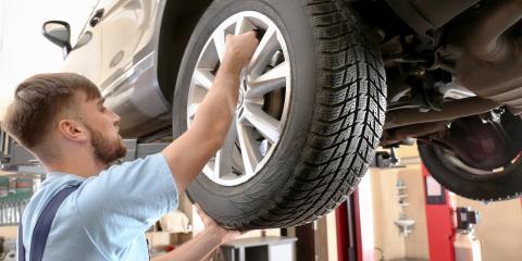 3 Common Types of Car Tires, Mountain Home, Arkansas