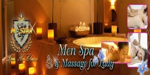 Ditch The Man Cave For The Ultimate Massage For Men at M-Star Spa , Manhattan, New York