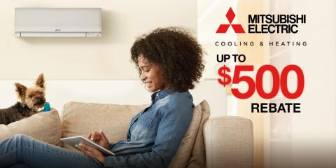 Up To $500 Instant Rebate on Mitsubishi® Multi-Zone System, East Hampton, New York
