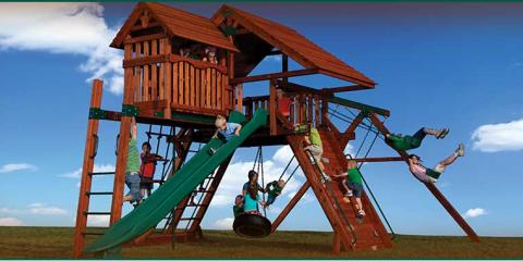 5 Ways a Playset Benefits Your Children's Health & Well-Being, Rapid City, South Dakota