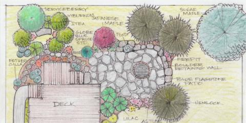Custom Landscaping Design This Fall From Eagle Creek Landscape & Design, Taylor Creek, Ohio