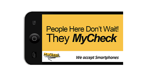 Simple, Fast & Convenient! Mobile Payment App MyCheck Makes Paying The Bill a Breeze, Manhattan, New York