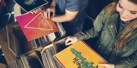 How Shopping in a Record Store Differs From Ordering Online, Nashville-Davidson, Tennessee
