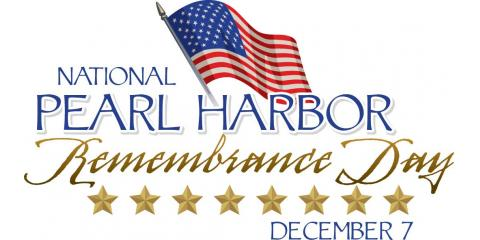 Today we remember Pearl Harbor. We will never forget the men and women who lost their lives on this day., Forked River, New Jersey