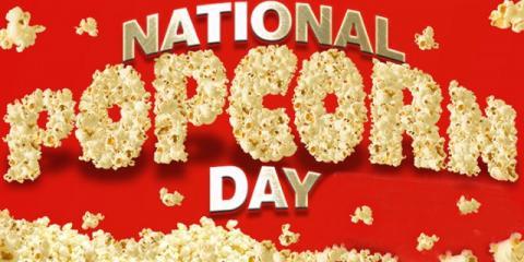 Celebrate National Popcorn Day! Save 30% online @ POPtions!, Clayton, Missouri