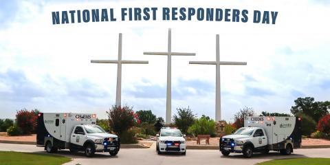 Today (and Every DAY) is National First Responders Day, Gatesville, Texas