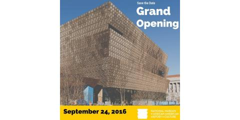 National Museum of African American History and Culture Opens This Weekend, Washington, District Of Columbia