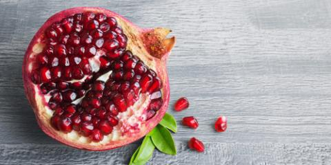 4 Healthy Benefits of Pomegranates, Anchorage, Alaska