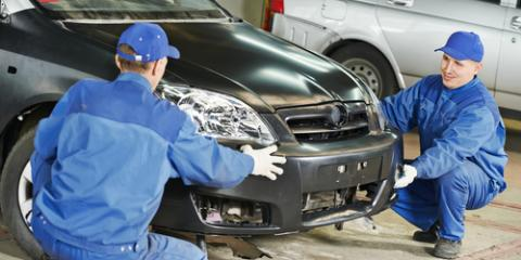 Should You Repair or Replace Your Bumper After A Fender Bender, Lincoln, Nebraska