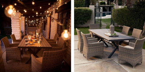 Save 60% off Bella Outdoor Dining Table with 6 Chairs, Clayton, Missouri