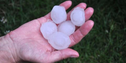 How to Tell Your Roof Has Hail Damage , Lincoln, Nebraska