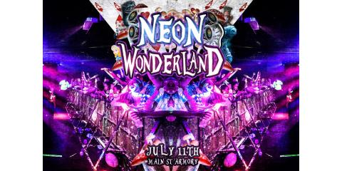 Neon Wonderland comes to the Armory this July!, Rochester, New York