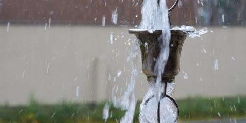 What Does a Rain Chain Do?, New Braunfels, Texas