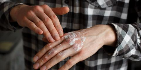 3 Men's Skin Care Tips to Keep Dry Hands Hydrated, Manhattan, New York
