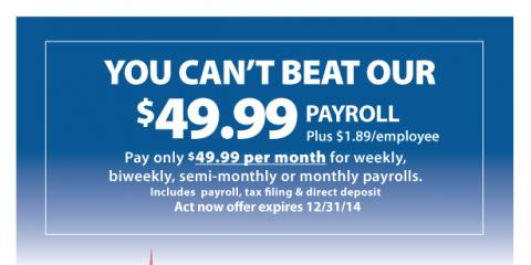 Get Professional Payroll Management For Just $49.95 / mo., Manhattan, New York