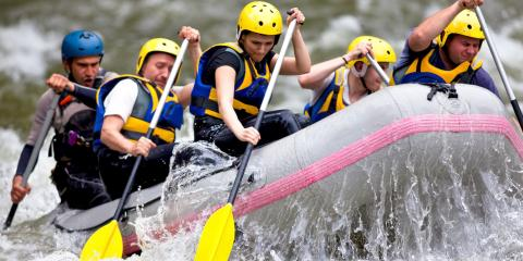 3 Compelling Reasons to Try Rafting, New York, New York