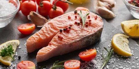 5 Health Benefits of Eating Salmon, Manhattan, New York