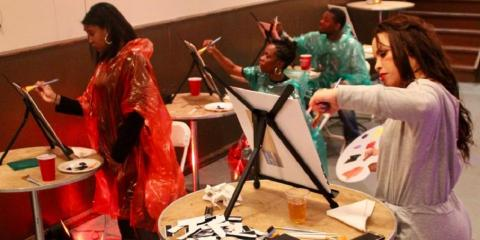 What to Expect From a Sip & Paint Session, Manhattan, New York
