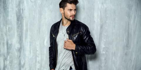 What to Look for in Men's Leather Jackets, New York, New York