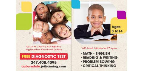 ONE MONTH FREE FOR MATH & READING PROGRAM AT JEI AUBURNDALE-WHITESTONE CENTER, Queens, New York