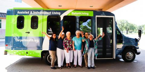 Coryell Health Residents Get New Bus, Gatesville, Texas