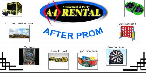 5 Fun After-Prom Party Rentals, Reading, Ohio