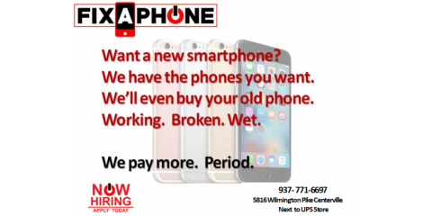 We'll buy your phone, Centerville, Ohio