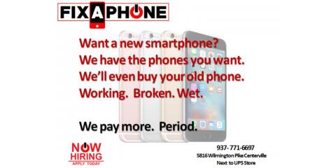 We'll buy your phone, Washington, Ohio