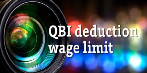 Close-Up on the New QBI Deduction's Wage Limit, Mountain Home, Arkansas
