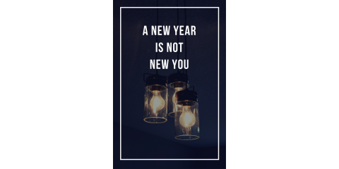 A New Year is Not a New You, Minneapolis, Minnesota