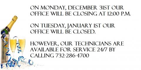 Upcoming hours for December 31st and January 1st are as follows:, Forked River, New Jersey